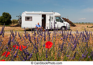 Travel by mobile home - Travel by mobil home in France