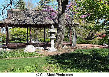 Beautiful Osaka Garden - Beautiful Osaka Japanese Garden in...