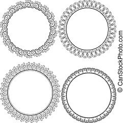 round frame - decorative round frames