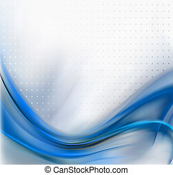 Abstract Blue Elegant Background. Vector illustration.