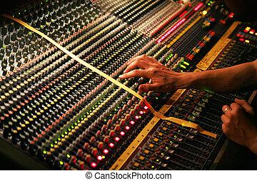 Mixer - Detail of a mixer............