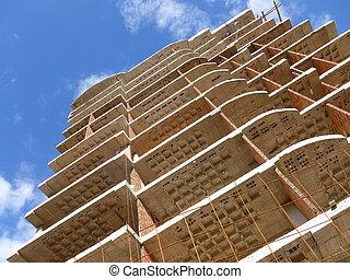 Condo Construction - Construction of a high-rise condo...