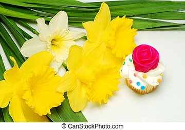 Cupcake for Mom on Mothers Day