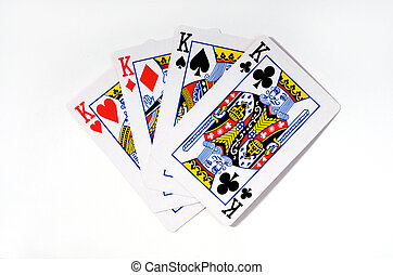 four kings - 4 cards of kings