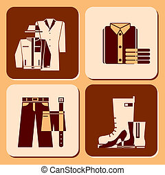 clothing icons