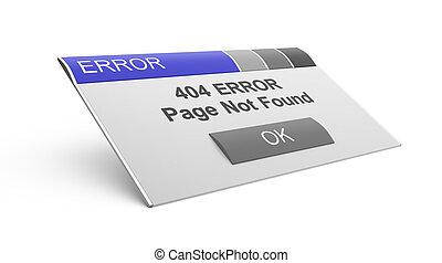 Error 404. Page not found.