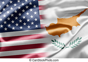 USA and Cyprus - Excellent vivid images of flags for you....
