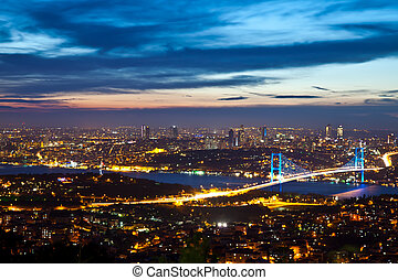 Bosphorus Bridge 1 - Bosphorus Bridge at the night