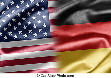 USA and Germany - Excellent vivid images of flags for you....