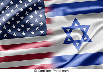 USA and Israel - Excellent vivid images of flags for you....