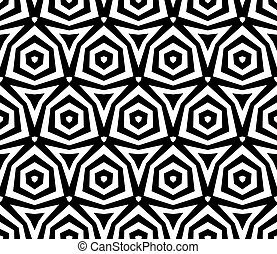 abstract ethnic vector seamless background. Vector...