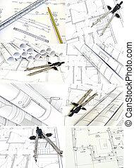 hus, Planer, Väggmålning