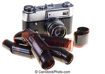 Color negative film and vintage camera