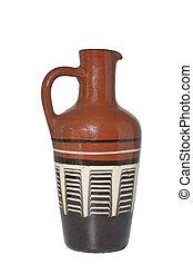 Ceramic jug.