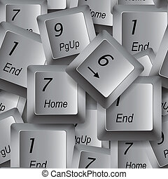 Computer buttons seamless background