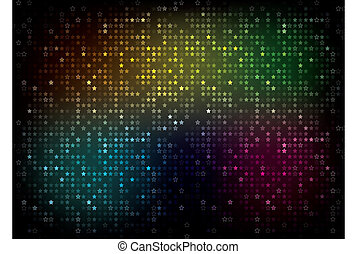 Color Spectrum Abstract Background