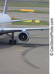 maszyna, samolot