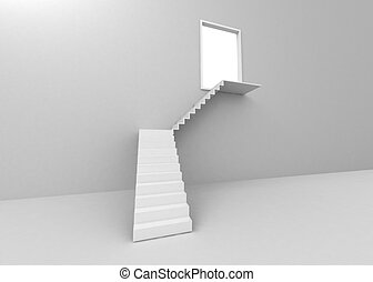 ladder leading to the light