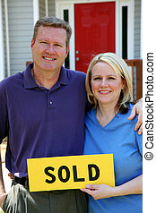 Sold - Couple selling their home
