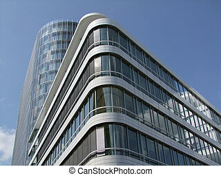 Building complex - Modern office building complex in...