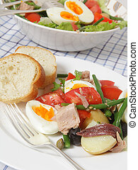 Nicoise salad meal