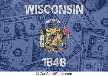 transparent united states of america state flag of wisconsin...