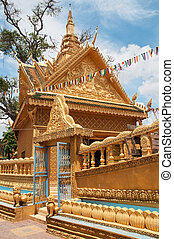 Wat Sampov Treileak in Phnom Penh, Cambodia