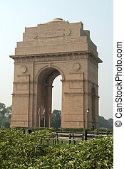 India Gate where ample tribute is paid to ear victims,...