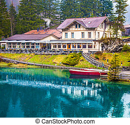 Blausee, Switzerland - Cottage - Blausee, or The Blue Lake...