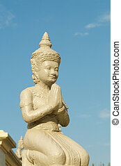 Stone Buddha, Cambodia