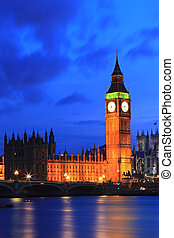 Big Ben London - Big Ben and River Thames International...
