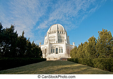 Baha'i Temple in Illinois - The Baha'i House of Worship in...
