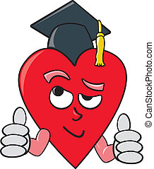 Smart Heart - A literal depiction of the term heart smart...