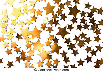 holiday stars background isolated