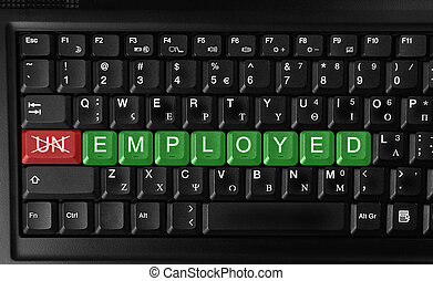 Employment - Changing unemployed to employedRecruitment or...
