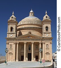 Mgarr Parish Church in Gozo, Malta