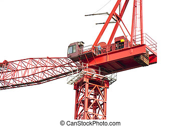 High crane close-up - Still installed in the crane close-up