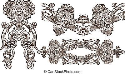 ornament set - ornament set