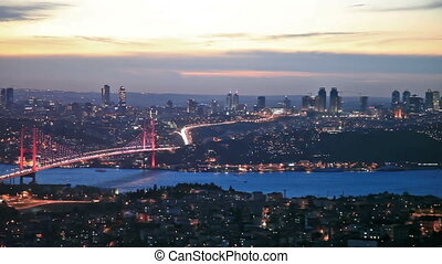 Bosphorus Bridge Scene 6 - Bosphorus Bridge at the night...