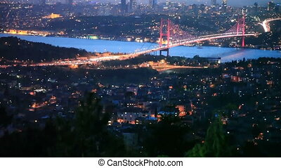 Bosphorus Bridge Scene 7 - Bosphorus Bridge at the night...