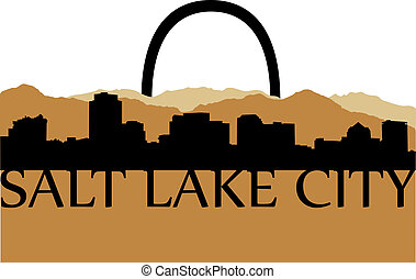 Salt Lake City shopping - City of Salt Lake City high rise...