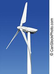 schließen,  Turbine, Auf,  Wind