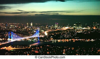 Bosphorus Bridge Scene 1 - Bosphorus Bridge at the night...