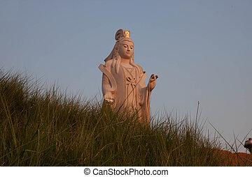 Guan Yin - Statue of Guan Yin Temple in Chiang