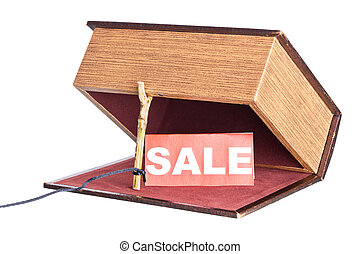 trap, catch - Fraud in the sale. box is installed in the...