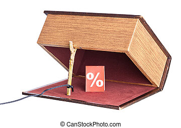 trap, catch - Dangerous percent. The box is installed in the...