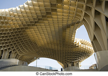 Metropol Parasol in Seville - The World Largest Wooden...