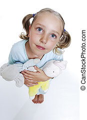 Girls in pajamas is the little angel - Girls in pajamas with...