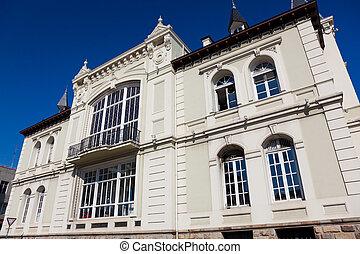 Building in Bermeo, Bizkaia, Spain