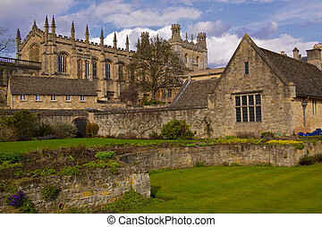 St. Christ Church College in Oxford, England